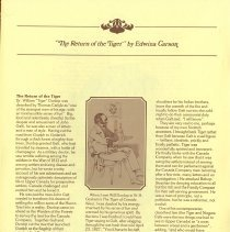 "Image of ""The Return of the Tiger,"" by Edwina Carson, p.24"
