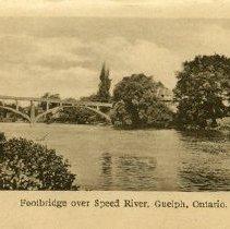 Image of Footbridge over Speed River