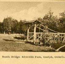 Image of Rustic Bridge, Riverside Park