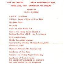 Image of 150 Anniversary Ball