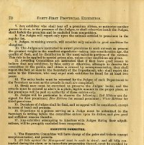 Image of Rules & Regulations (Continued), page 70