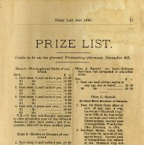 Image of Prize List, page 71