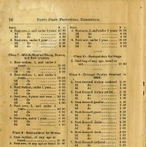 Image of Prize List (Continued), page 72