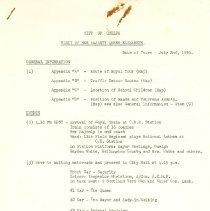 Image of 2006.22.5 - Schedule, Activity
