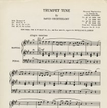 Image of Trumpet Tune by David Ouchterlony, 1957