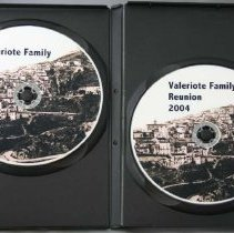 Image of Valeriote Reunion DVD - Inside