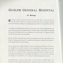 Image of A Message from Guelph General Hospital, page 4