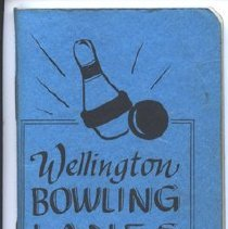 Image of Wellington Bowling Lanes Book