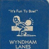 Image of Wyndham Lanes Record Book