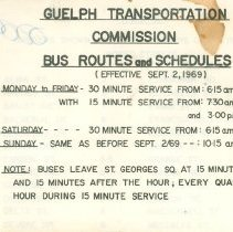 Image of Bus Routes Booklet