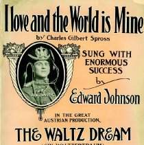 Image of Sheet Music from A Waltz Dream