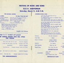Image of Festival of Music and Song Programme, pp.6-7