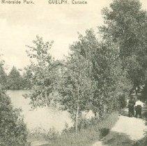 Image of Postcard of Riverside Park