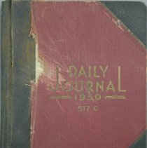 Image of Account Book, Daily Journal