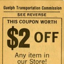 Image of Guelph Transportation Commission Transfer Tickets