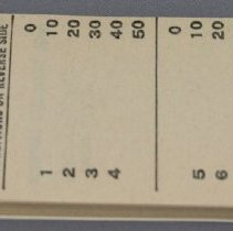 Image of Transfer Tickets Booklet