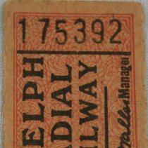 Image of Bus Ticket 175392 Front