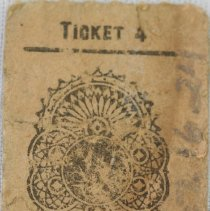 Image of Bus Ticket 10464 Back