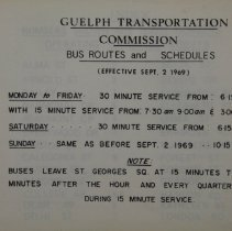 Image of Guelph Bus Routes
