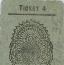 Image of Bus Ticket 597326 Back