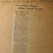 Image of Pg.2 Street Railway Report