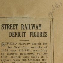 Image of Pg.13 Street Railway Deficit