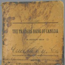 Image of Bank Book for Guelph Ry. Co.