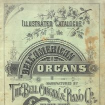 Image of Bell Organ Co. Catalogue