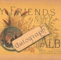 Image of Friends Autograph Album