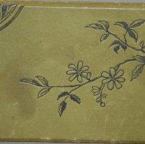 Image of Autograph Album Back Side