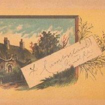 Image of Autograph F. Cumberland
