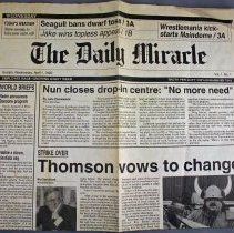 Image of The Daily Miracle, 1992