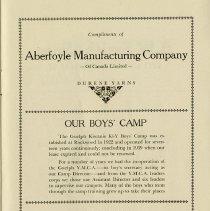 Image of Kiwanis Boys' Camp, p.19
