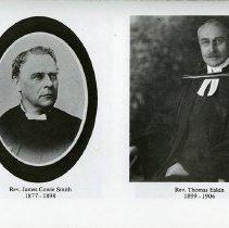 Image of Rev. J.C. Smith; Rev. Thomas Eakins