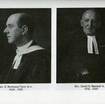 Image of Rev. S. Buchanan Carey; Rev. David H. Marshall