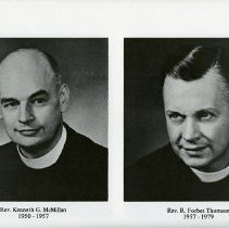 Image of Rev. Kenneth G. McMillan; Rev. R. Forbes Thomson
