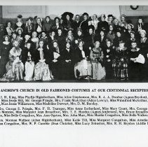 Image of St. Andrew's Church Members at Centennial Reception, April 1932