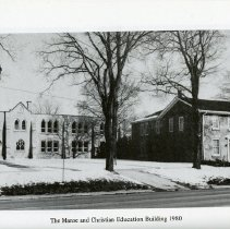 Image of The Manse and Christian Education Building, 1980