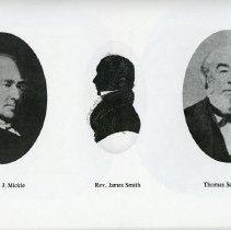 Image of Charles J. Mickle; Rev. James Smith; Thos. Sandilands