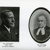 Image of Rev. Colin Gregor; Rev. John Hogg