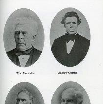 Image of Wm. Alexander; And. Quarrie; David Allan; John McCrea