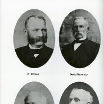 Image of Dr. Cowan; David Kennedy; Chles. Davidson; N. Higinbotham