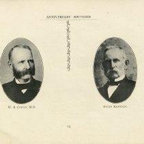 Image of W.B. Cowan, M.D.; David Kennedy, p.12