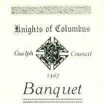 Image of Knights of Columbus 1920 insid