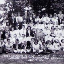 Image of Lancashire Felt Co. Annual Picnic, July 1939