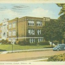 Image of Collegiate Vocational Instiute Postcard - Front