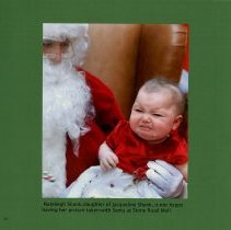 Image of Nateleigh Shank with Santa at the Stone Road Mall, page 10