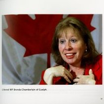 Image of Liberal MP Brenda Chamberlain of Guelph, page 33