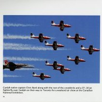 Image of Guelph native captain Chris Bard with the Snowbirds, page 34