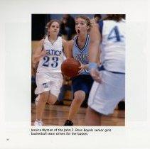 Image of Jessica Wyman of the John F. Ross Royals senior girls basketball team